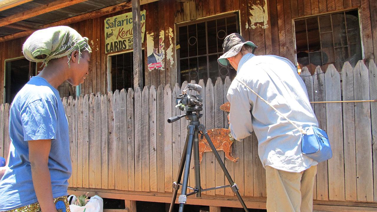 Filming-Bushbuck
