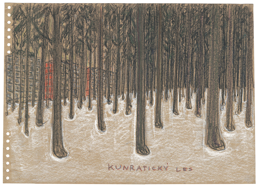 Kunraticky-Les